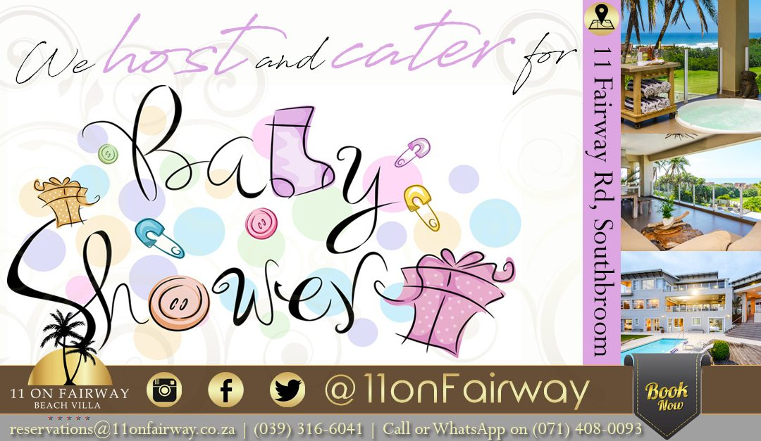 Host and cater for baby shower parties