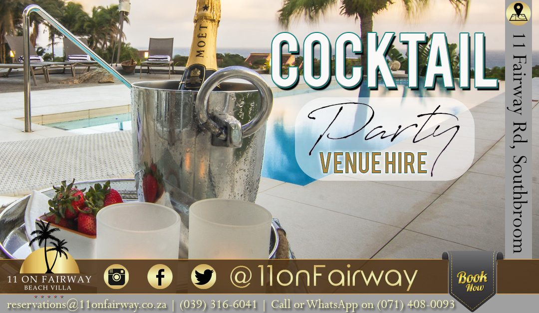 Cocktail party venue hire