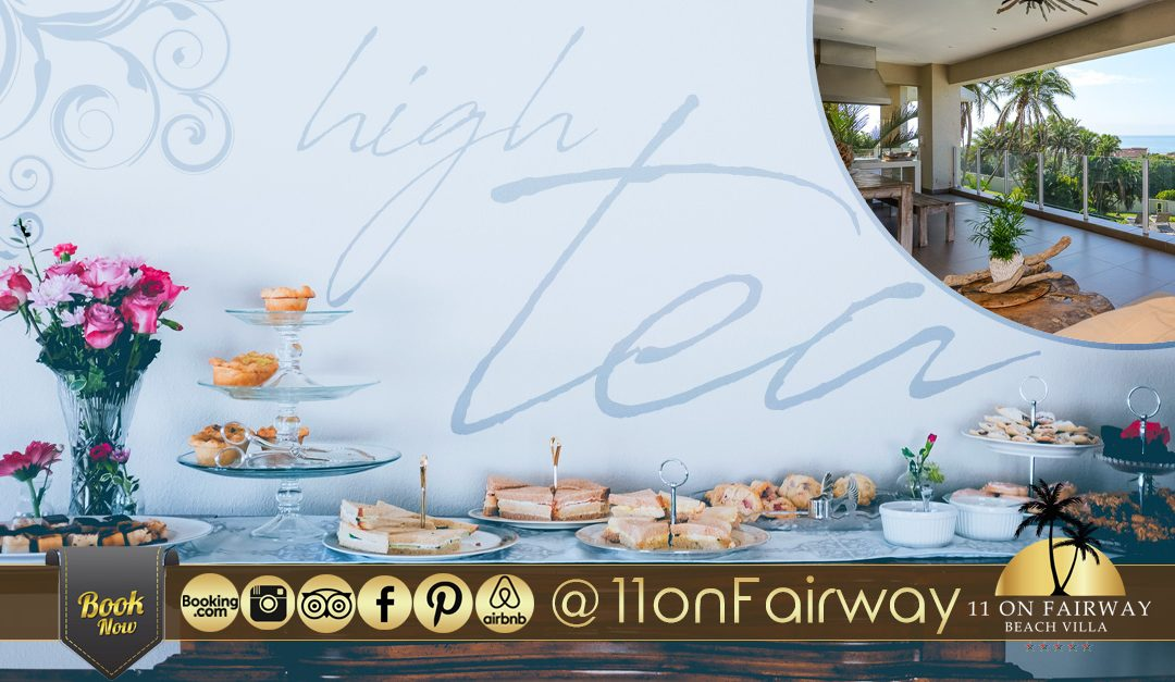 Exclusive and luxurious High Tea